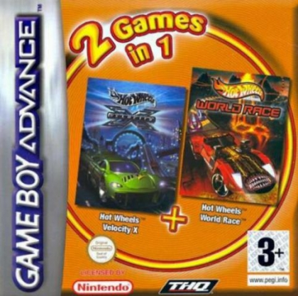 2 Games in 1 - Hot Wheels - Velocity X + Hot Wheel [Europe] image