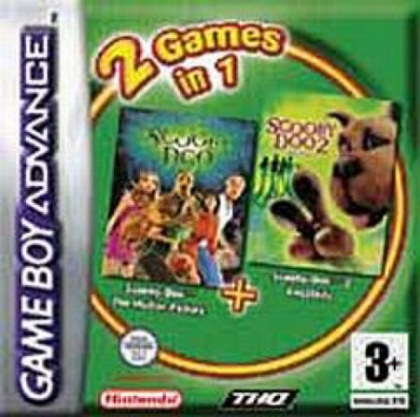 2 Games in 1 - Scooby-Doo + Scooby-Doo 2 - Les Mon [USA] image