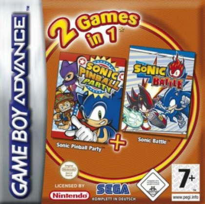 2 Games in 1 : Sonic Battle + Sonic Pinball Party [Europe] image