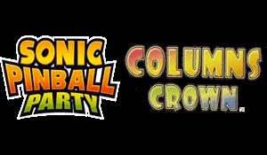 2 Games in 1 : Sonic Pinball Party + Columns Crown [Europe] image