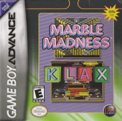 2 Games in One! - Marble Madness + Klax [USA] image