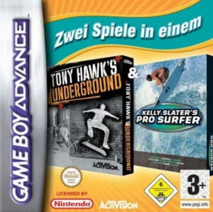 2 in 1 Game Pack - Tony Hawk's Underground + Kelly [USA] image