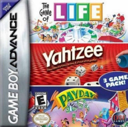 3 Game Pack! : The Game of Life + Payday + Yahtzee [USA] image