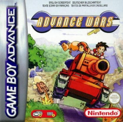 Advance Wars [Europe] - Nintendo Gameboy Advance (GBA) rom