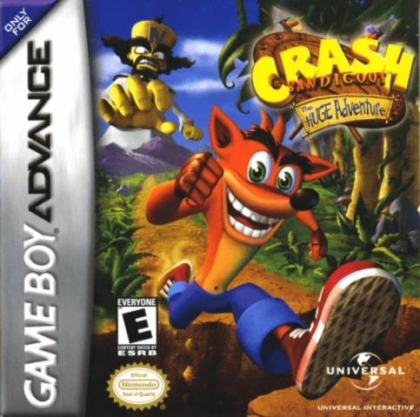 Crash Bandicoot : The Huge Adventure [USA] image