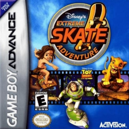 Extreme Skate Adventure Usa Nintendo Gameboy Advance Gba Rom