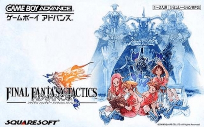 Final Fantasy Tactics Advance Japan Nintendo Gameboy Advance