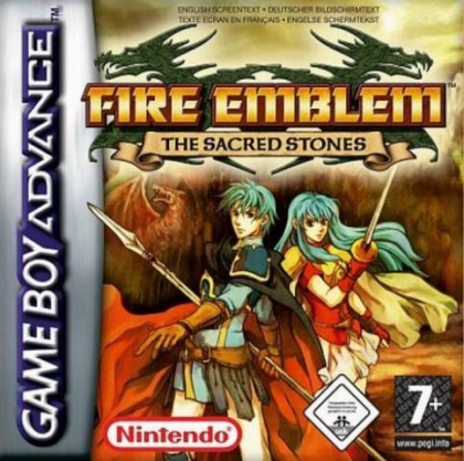 Fire Emblem : The Sacred Stones [Europe] - Nintendo Gameboy Advance (GBA) rom Скачать | WoWroms.com