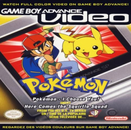 Game Boy Advance Video : Pokémon, Volume 3 [USA] image