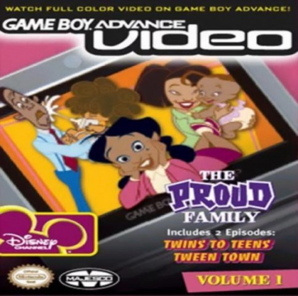 Game Boy Advance Video : The Proud Family, Volume 1 [USA] image