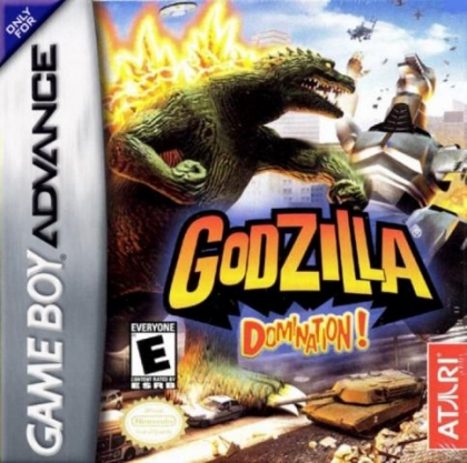 Godzilla : Domination ! [USA] - Nintendo Gameboy Advance (GBA) rom