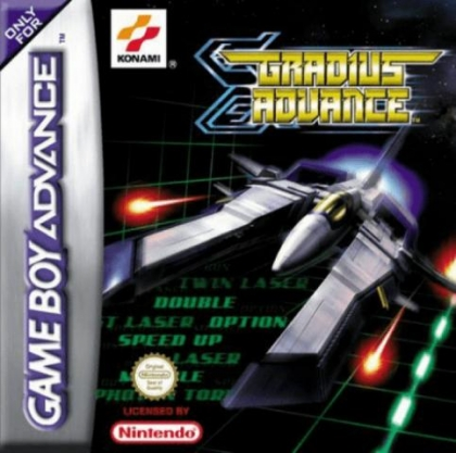 Gradius Advance [Europe] image