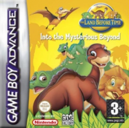 The Land Before Time: Into the Mysterious Beyond [Europe] image