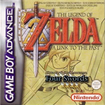 The Legend of Zelda : A Link to the Past & Four Sw [USA] - Nintendo