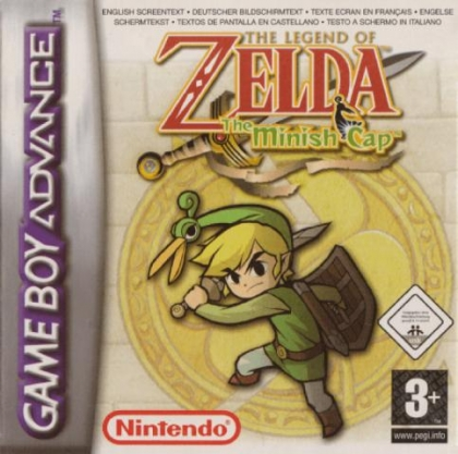 The Legend Of Zelda The Minish Cap Europe Nintendo Gameboy Advance Gba Rom Download Wowroms Com