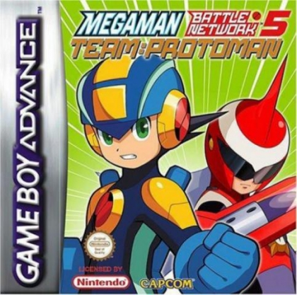 protoman battle network