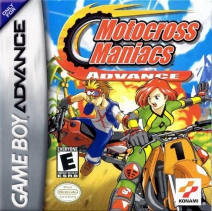 Motocross Maniacs Advance [USA] image