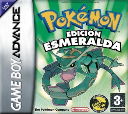 Pokemon Edicion Esmeralda Spain Nintendo Gameboy Advance Gba