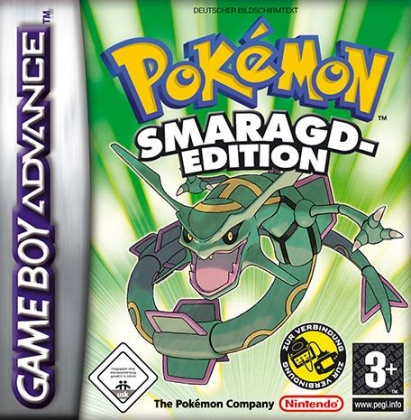 Pokemon Smaragd Edition Germany Nintendo Gameboy Advance Gba