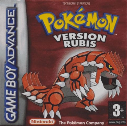 Pok mon version rubis france nintendo gameboy advance gba rom t l charger - Pokemon version rubis evolution ...