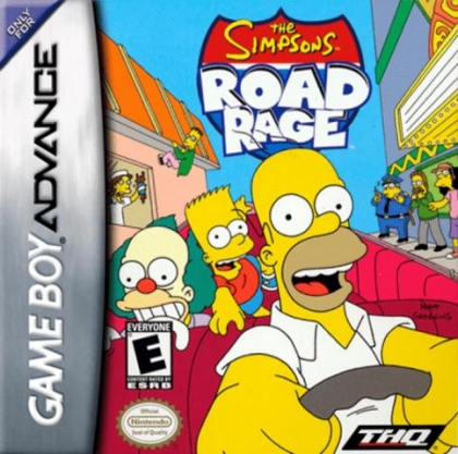 The Simpsons : Road Rage [USA] image