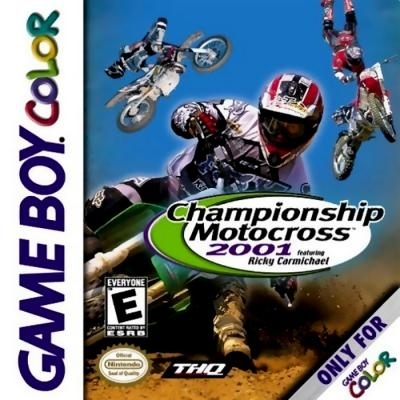 Championship Motocross 2001 featuring Ricky Carmic [USA] image