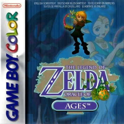 The Legend of Zelda : Oracle of Ages [Europe] image