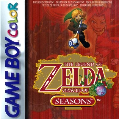 The Legend of Zelda : Oracle of Seasons [Europe]-Nintendo Gameboy