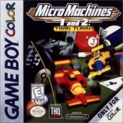 Micro Machines 1 and 2: Twin Turbo [USA] image
