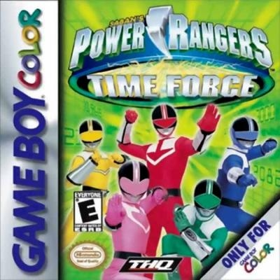 Power Rangers - Time Force [USA] - Nintendo Gameboy Color