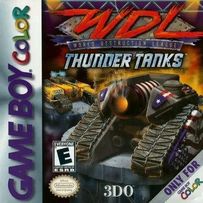 World Destruction League : Thunder Tanks [USA] image