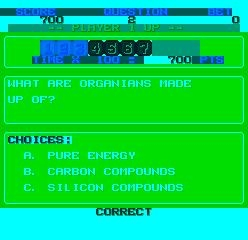 TRIVIA MADNESS - SERIES A QUESTION SET - MAME (MAME) rom