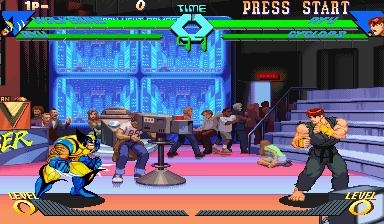 X-MEN VS. STREET FIGHTER [EUROPE] image