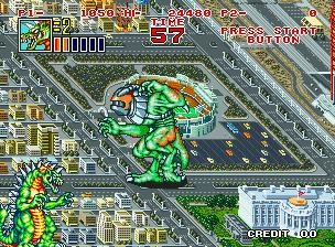 KING OF THE MONSTERS 2 - THE NEXT THING - MAME (MAME) rom