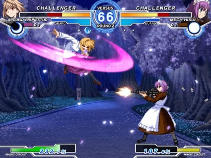 MELTY BLOOD: ACTRESS AGAIN [JAPAN] - MAME (MAME) rom