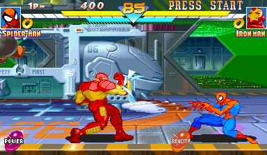 MARVEL SUPER HEROES [EUROPE] - MAME (MAME) rom download