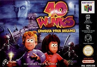 40 Winks N64-cover game