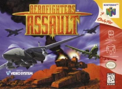 Aerofighter Assault [USA] image