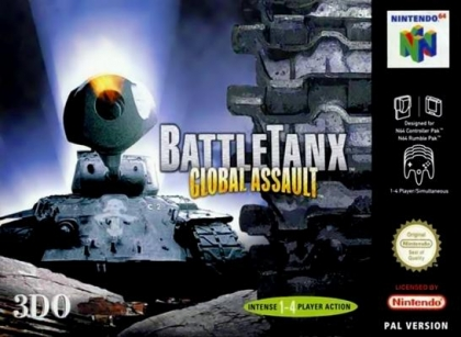 Last Retro Game You Finished And Your Thoughts - Page 7 BattleTanx+-+Global+Assault+(Europe)+(En,Fr,De)-image