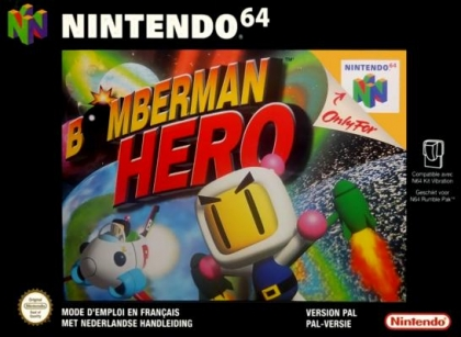 Bomberman Hero [Europe] - Nintendo 64 (N64) rom download | WoWroms com