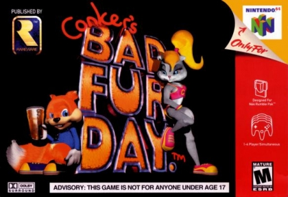 Conker's Bad Fur Day [USA] image