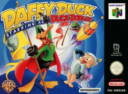 Daffy Duck Starring as Duck Dodgers [Europe] image