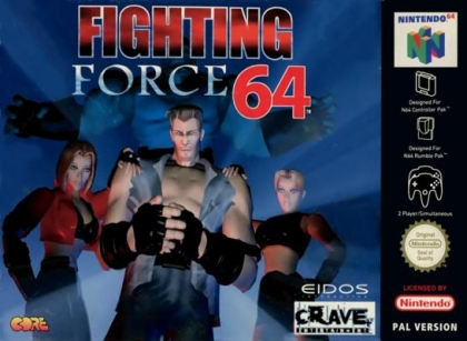 Fighting Force 64 [Europe] image