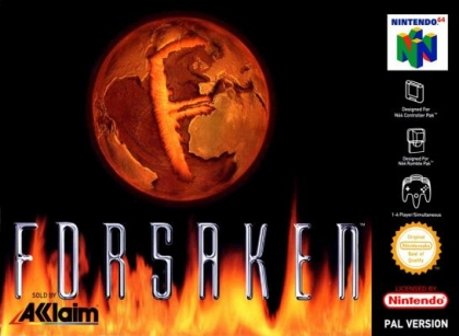 Forsaken 64-cover game/top game n64