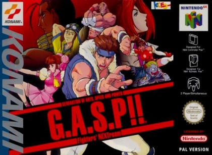 G.A.S.P!! Fighters' NEXTream [Europe] image