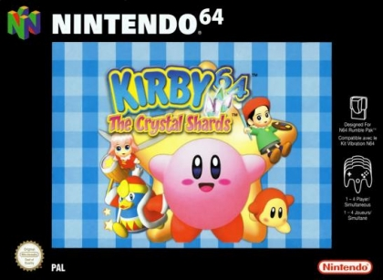 Kirby 64 : The Crystal Shards [Europe] image