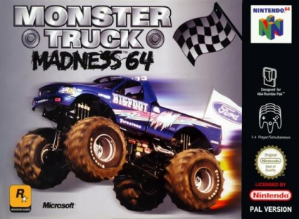 Monster Truck Madness 64 [Europe] image