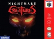 Логотип Emulators Nightmare Creatures [USA]