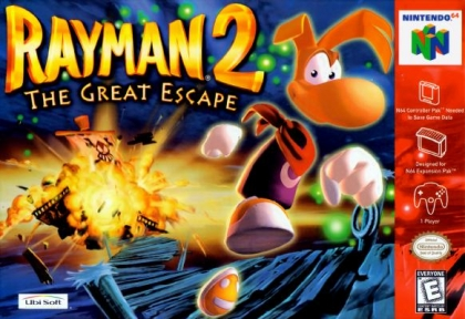 Rayman 2 : The Great Escape [USA] - Nintendo 64 (N64) rom