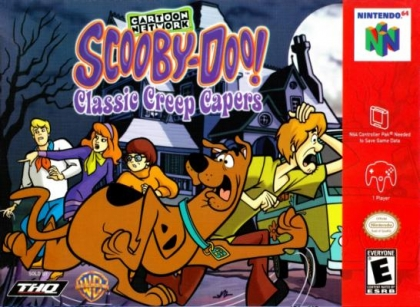 Scooby-Doo! : Classic Creep Capers [USA] - Nintendo 64 (N64